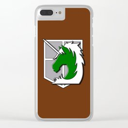 Military police Clear iPhone Case