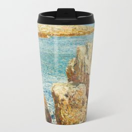 Coast Scene, Isles of Shoals Childe Hassam 1901 Travel Mug