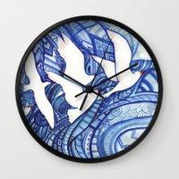 freedom Wall Clocks featuring Freedom by Verismaya