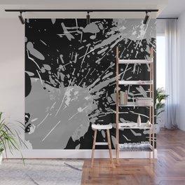Paint Splash Mono Wall Mural