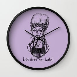 Hipstory Lessons: Marie Antoinette Wall Clock