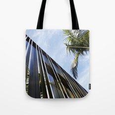 Palm Trees and Chrome Tote Bag