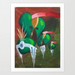 On the Plains Art Print