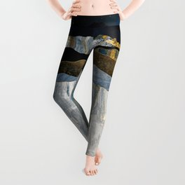 Painted Mountains Leggings