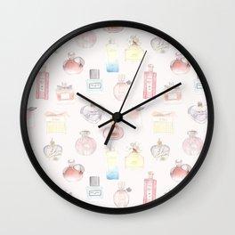 Perfumes Wall Clock