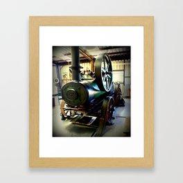 Colchester Boiler Framed Art Print