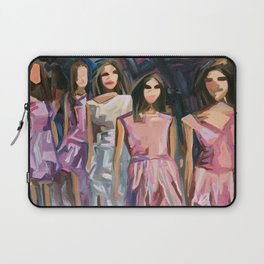 Pink Parade Laptop Sleeve