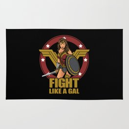 Fight like a Gal Rug