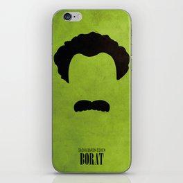 Borat - Minimal iPhone Skin