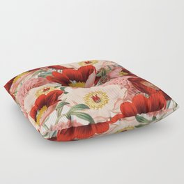 Vintage Garden #society6 Floor Pillow