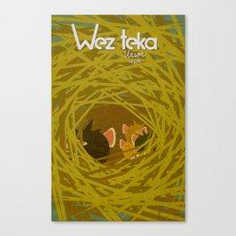"""Mother On Watch"" - Wezteka Union Canvas Print"