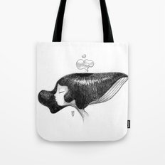 whale women Tote Bag
