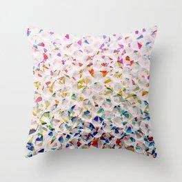 Holographic Bubblewrap Throw Pillow
