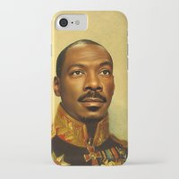 eddie vedder iPhone & iPod Cases featuring Eddie Murphy - replaceface by replaceface