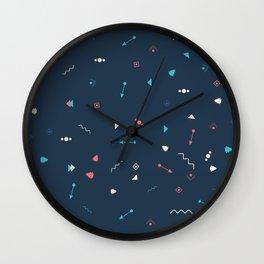 BLUE Spirit Wall Clock