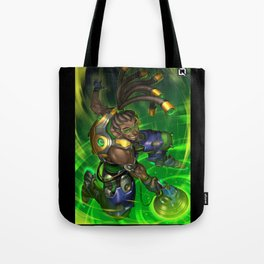 over lucio watch Tote Bag