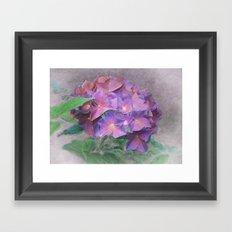 Blüten Traum Framed Art Print
