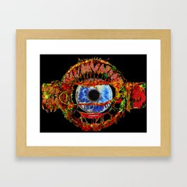 Guardian Of The Tube Framed Art Print