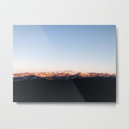 When the sun rise up. Metal Print