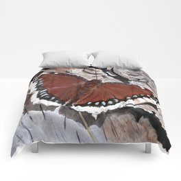 Cloak of Mourning Butterfly Comforters