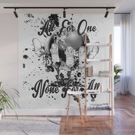 All for one Wall Mural