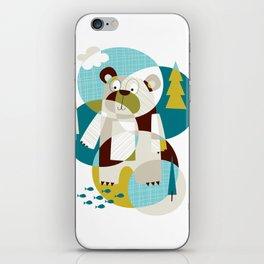 Bear Beware iPhone Skin