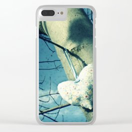 High heart Clear iPhone Case