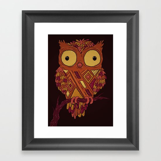 Buhito! Framed Art Print
