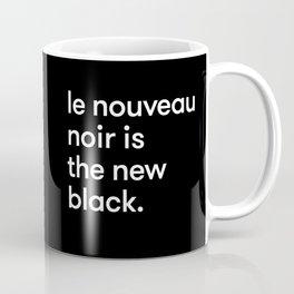 Le Nouveau Noir Coffee Mug