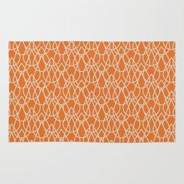 Lluvia Naranja Rug