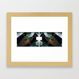 The Witch Is Dead Framed Art Print