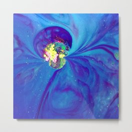 The Art of Reaction/// Magnetic Metal Print
