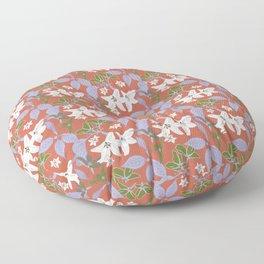 Gentle Floral. Floor Pillow
