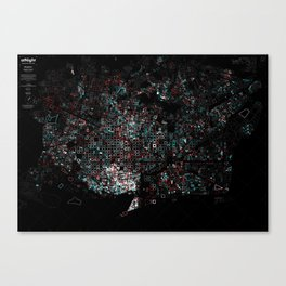 Uniqueness vs. identity Canvas Print