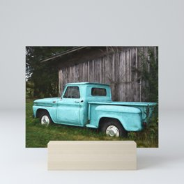 To Be Country - Vintage Truck Art Mini Art Print
