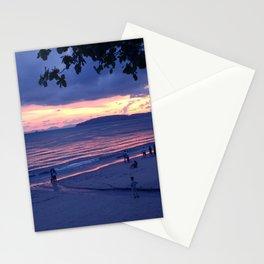 Sunset in Krabi Ao Nang Beach Stationery Cards