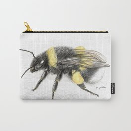White-tailed bumblebee Carry-All Pouch
