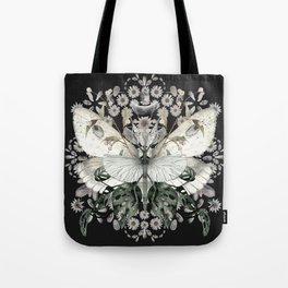 Garden Magic Black Tote Bag