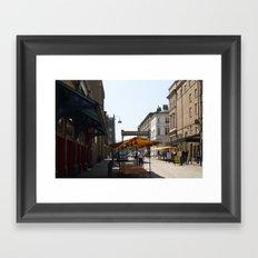 The Stalls Framed Art Print