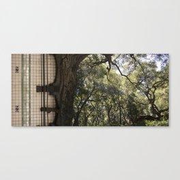 Treeway Canvas Print