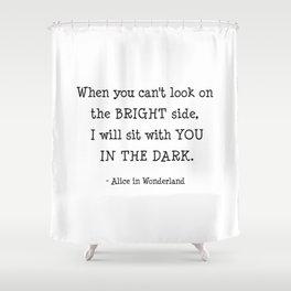 Alice in wonderland. Shower Curtain