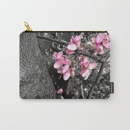 Jacaranda Flowering Branch Detail Carry-All Pouch