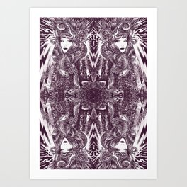 Delta of Venus no 6 by MARK DAY Art Print