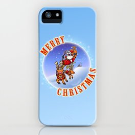 Merry Christmas Snowglobe! iPhone Case