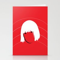 amy sia Stationery Cards featuring Girls Like Sia  by Smudgey Paw