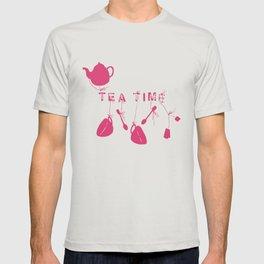 Pink Tea Time 2 T-shirt