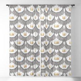 RBG-Queen-2 Sheer Curtain