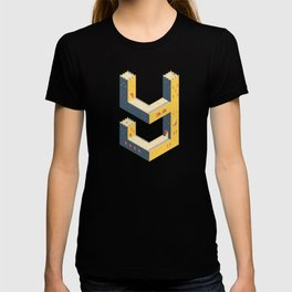 castle in the 'Y' T-shirt