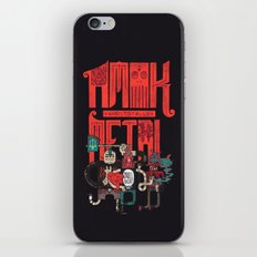 Amok And Totally Metal iPhone Skin