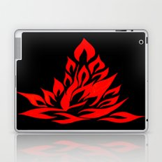 fire meditation pose Laptop & iPad Skin